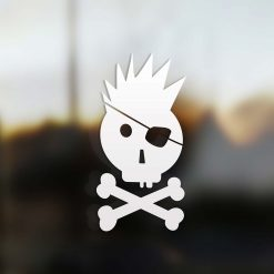 Family boy sticker pirate