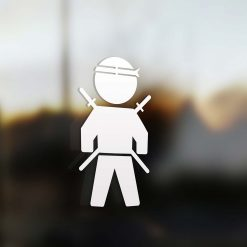 Family dad sticker ninja