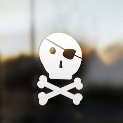 Family dad sticker pirate