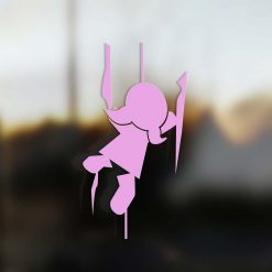 Family Girl sticker climber pink