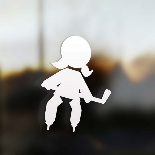 Family Girl sticker hockey player