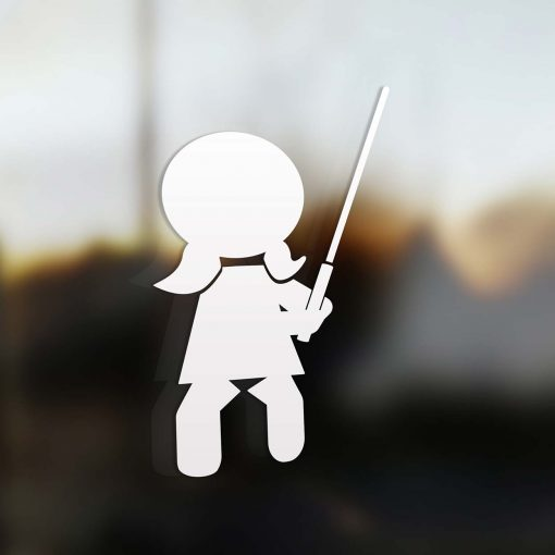 Family Girl sticker jedi