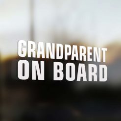Grandparent on board sticker