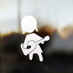 Family Mom sticker guitarist