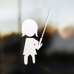Family Mom sticker jedi